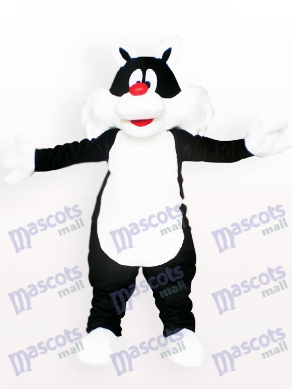 Black Cat Animal Mascot Costume