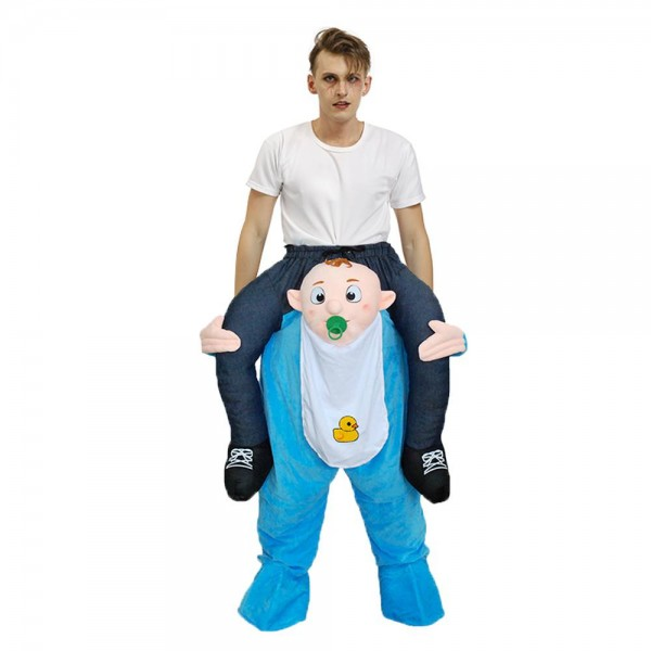 Baby Infant Carry me Ride on Fancy Dress Costume for Adult/Kid