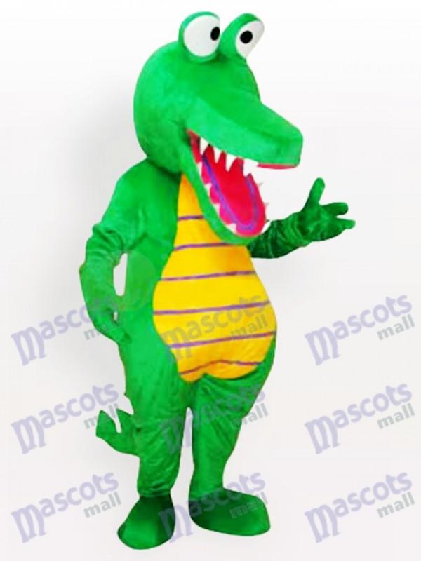 Cartoon Crocodile Adult Mascot Funny Costume