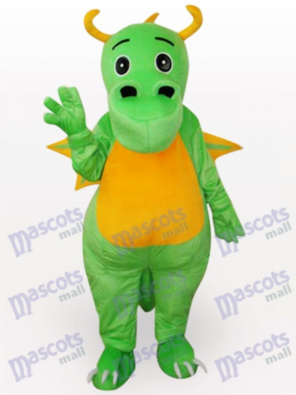 Green Dinosaur Animal Adult Mascot Funny Costume