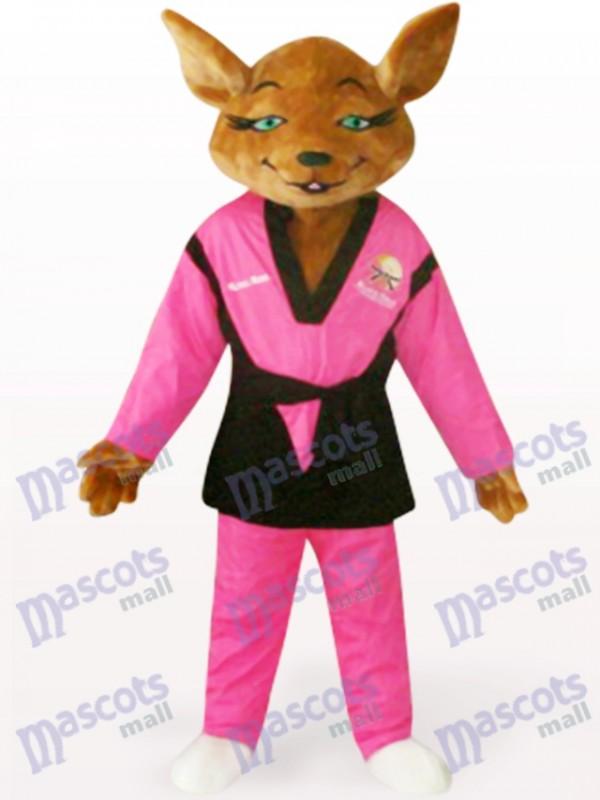 Red Tyke Dog Animal Adult Mascot Costume