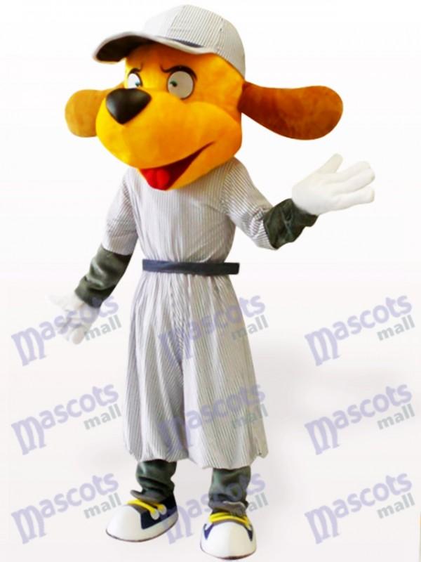 Baseball Dog Animal Adult Mascot Costume