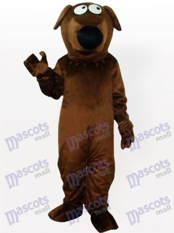 Black-Mouth Dog Adult Mascot Costume