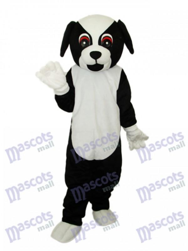 Black Dog Mascot Adult Costume