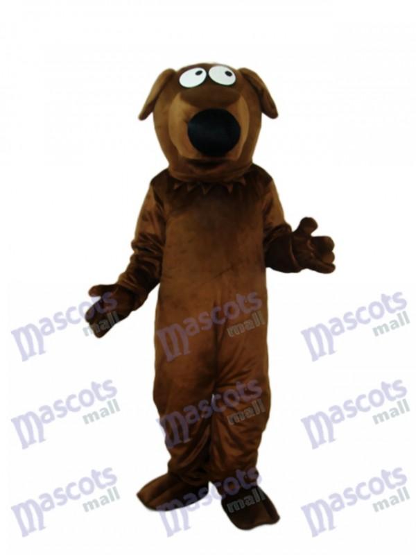 Big Nose Dog Mascot Adult Costume