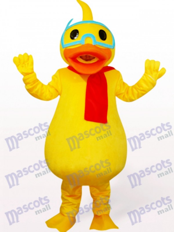 Duck Poultry Mascot Costume