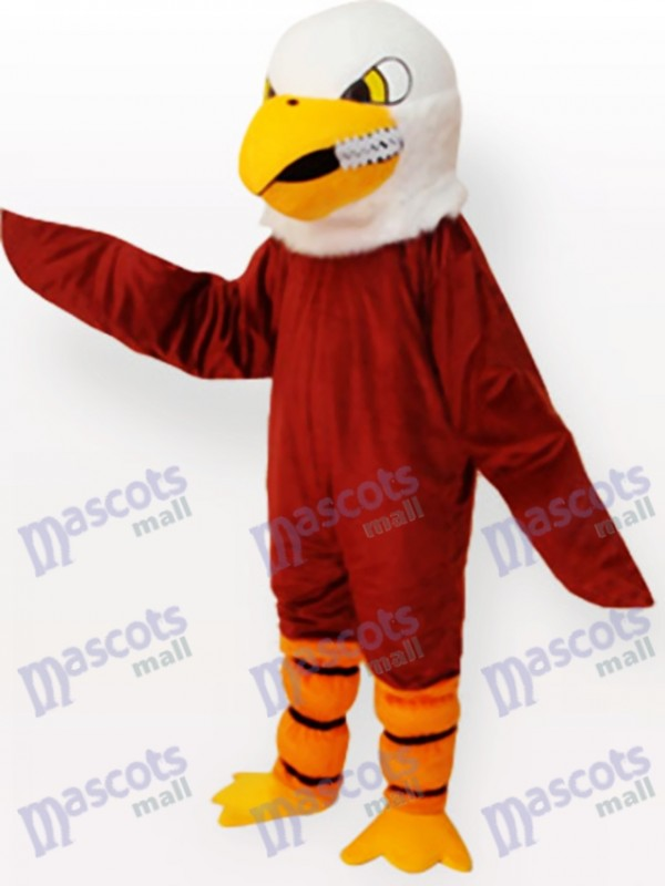 Brown Eagle Adult Mascot Funny Costume