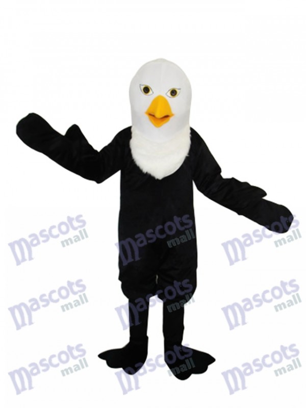 Pointed Beak Bald Eagle Mascot Adult Costume