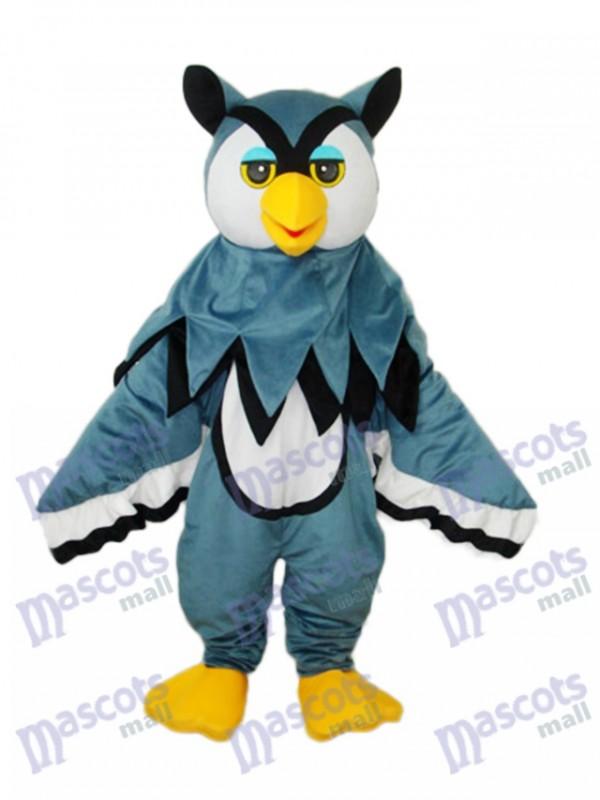 Little Gray Eagle Mascot Adult Costume