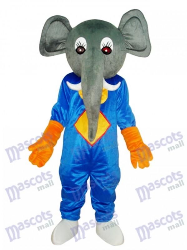 Elephant Mascot Adult Costume