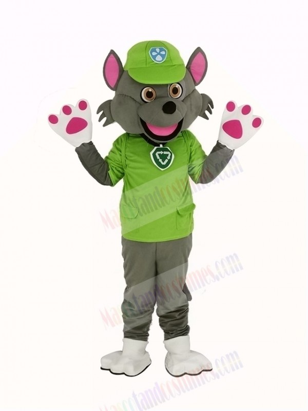 Paw Patrol Character Rocky Mascot Costume