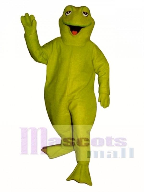 Sleepy Frog Mascot Costume