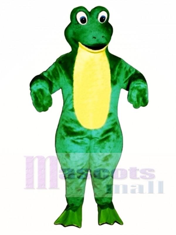 Froggy Frog Mascot Costume