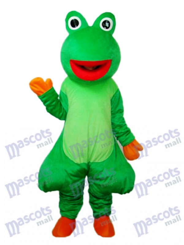 Red Mouth Odd Frog Mascot Adult Costume
