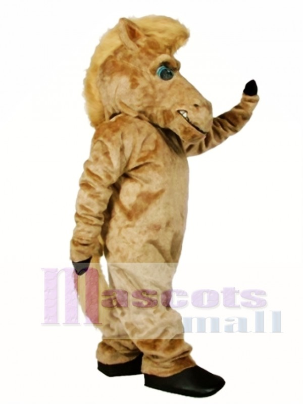 Cute Pepper Wild Stallion Horse Mascot Costume