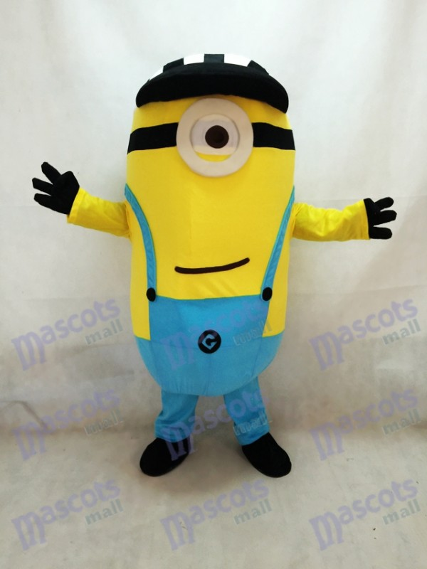 Despicable Me Minions Mascot Costume Custom Anime Cosplay Theme Fancydress Carnival with Hat