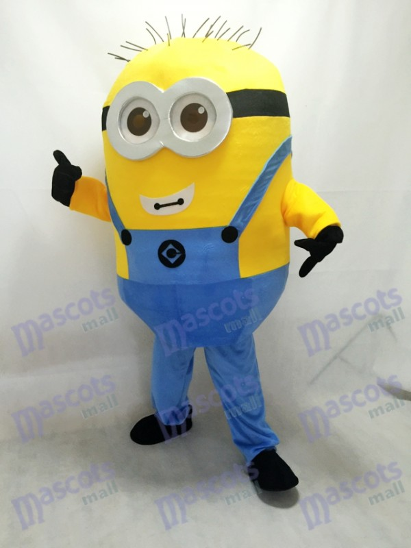 Despicable Me Minions with Glasses Mascot Costume B