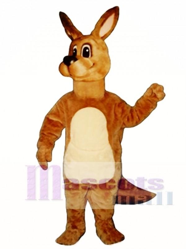 Cute Kangaroo Mascot Costume