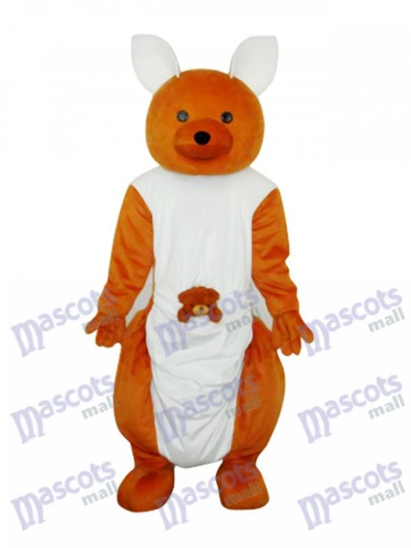 Kangaroo Plush Mascot Adult Costume
