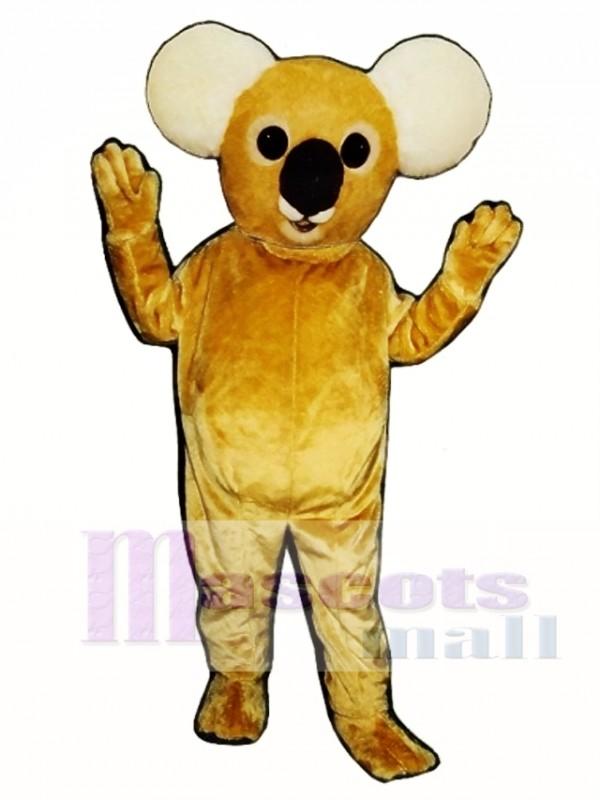 Cute Koala Bear Mascot Costume