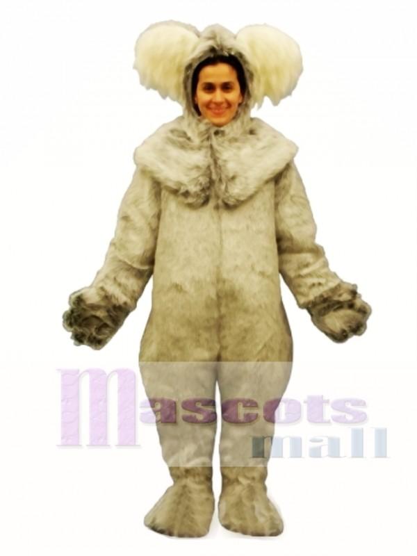 Koala with Hood Mascot Costume
