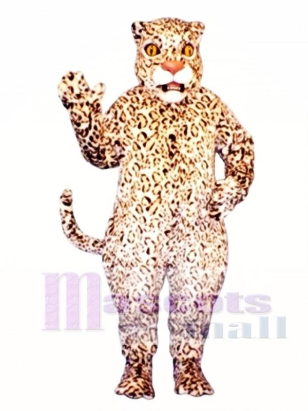 Cute Leopard Mascot Costume
