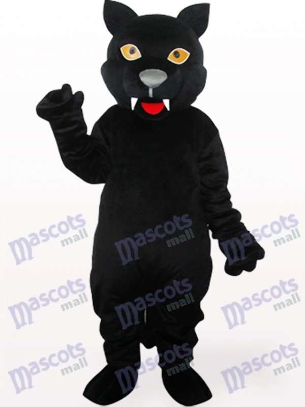 Back Panther Adult Mascot Costume