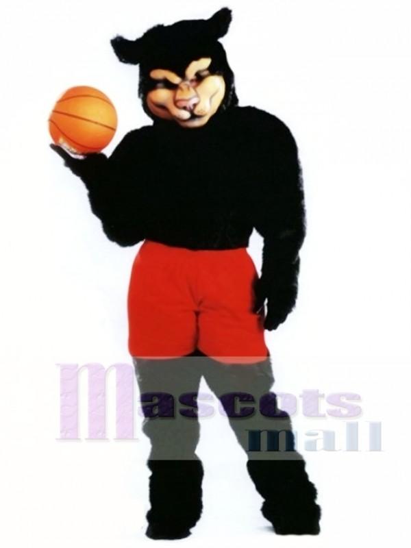 Pro Panther Mascot Costume