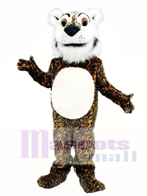 Comic Leopard Mascot Costume