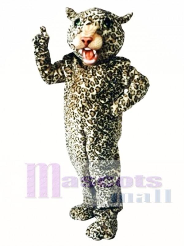 Big Cat Leopard Mascot Costume