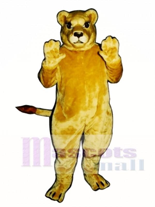Cute Lioness Lion Mascot Costume