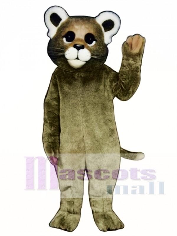 Baby Cougar Mascot Costume