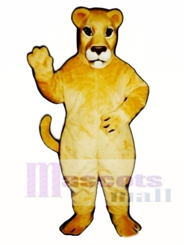 Realistic Lioness Lion Mascot Costume