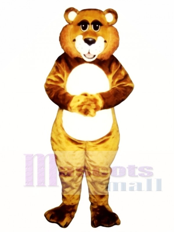 Cute Baby Lion Mascot Costume