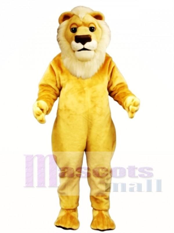 Sleepy Lion Mascot Costume