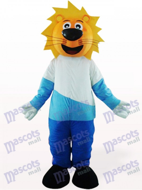 Lovely Yellow Head Leo Animal Mascot Costume