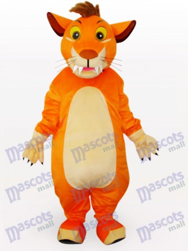 Lion Animal Mascot Costume