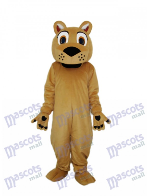 Beardless Lion Mascot Adult Costume
