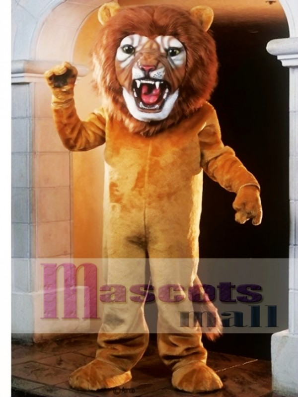 Super Lion Mascot Costume