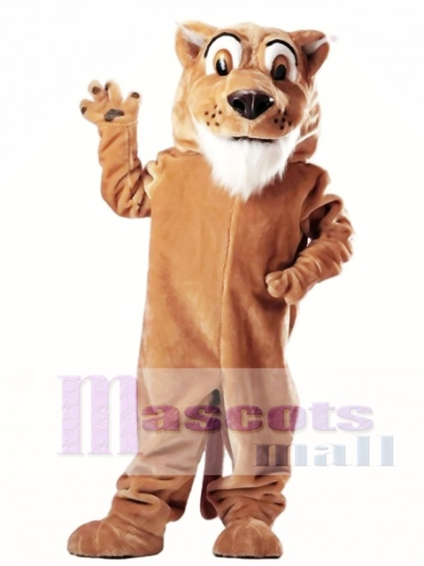 Colby Cougar Mascot Costume