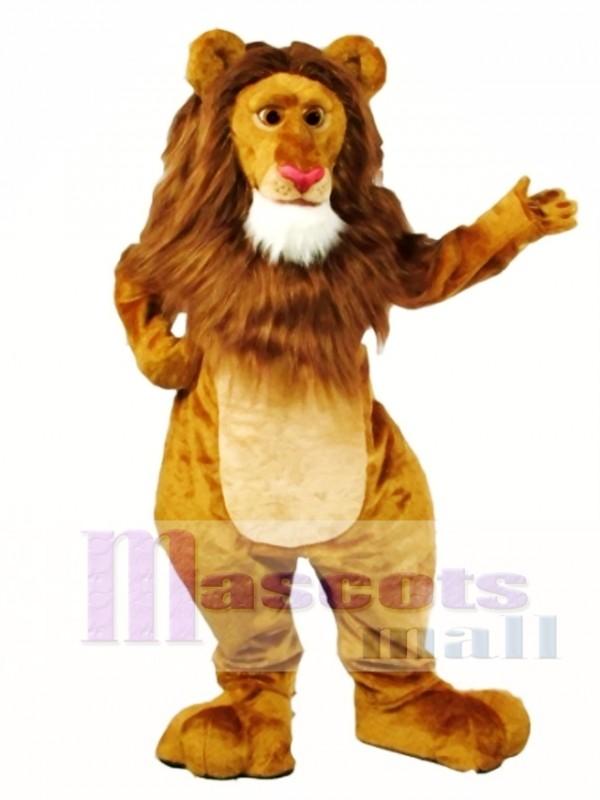 Wally Lion Mascot Costume