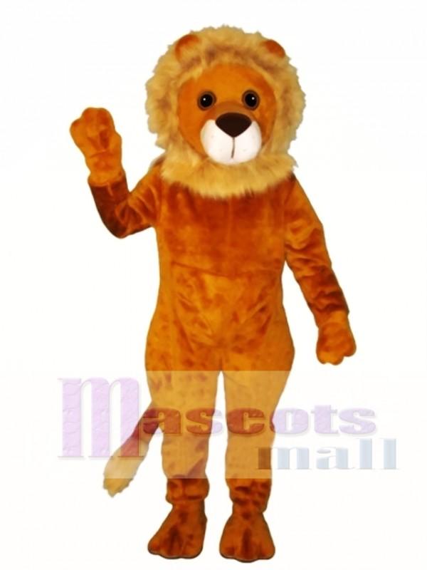 Linus Lion Mascot Costume