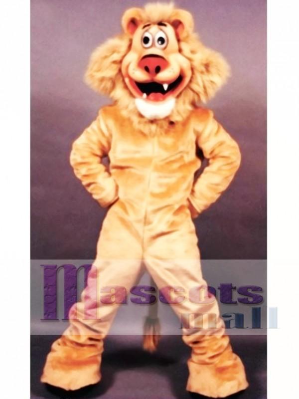 Lionel Lion Mascot Costume