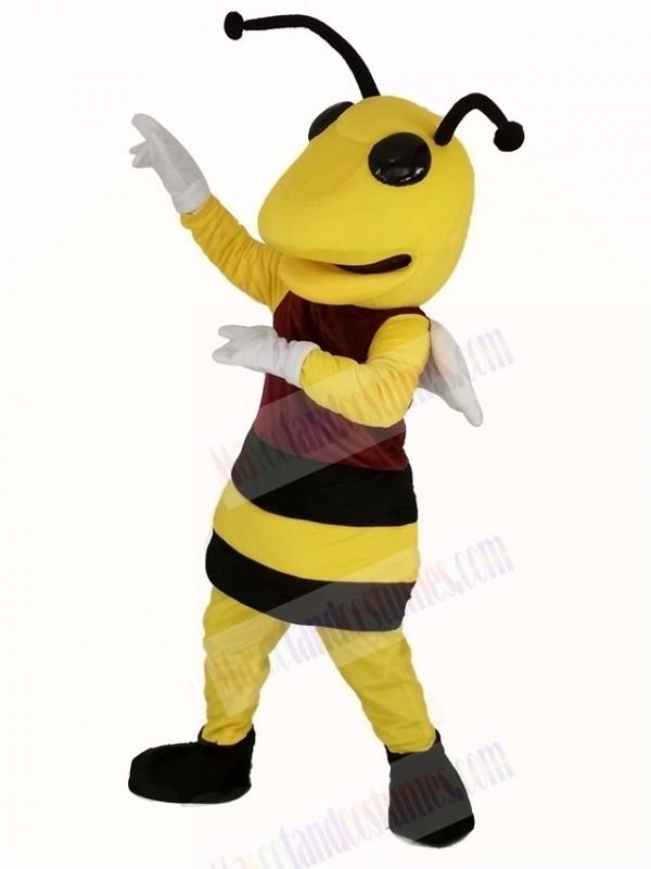 Power Bee Mascot Costume Animal