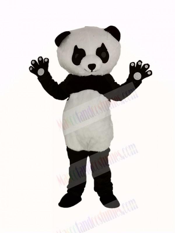 Panda with Long Eyelashes Mascot Costume