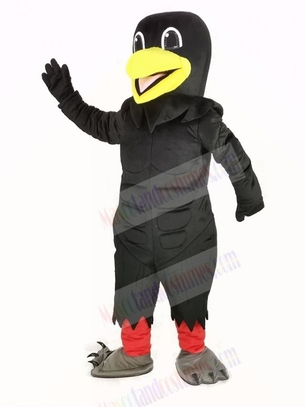 Power Black Raven Mascot Costume
