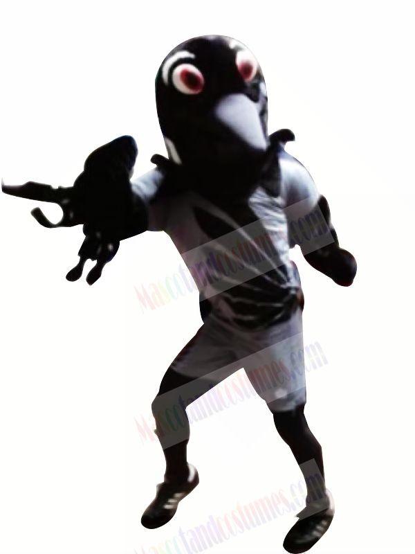 Funny Black Eagle Mascot Costumes Cartoon
