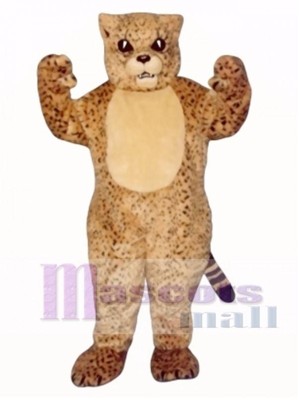 Cute Spotted Cat Mascot Costume
