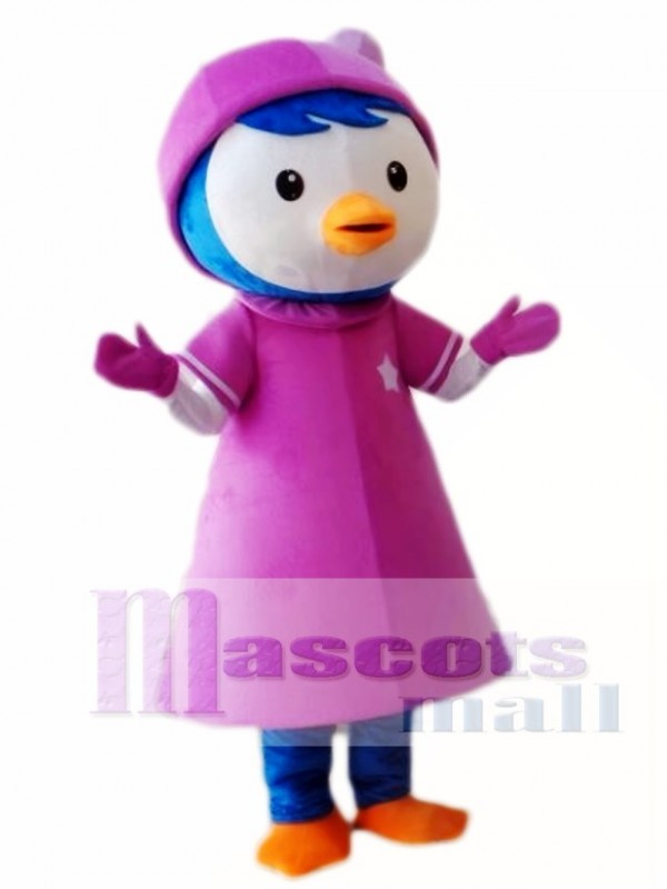 Pororo's Girlfriend Petty Penguin Mascot Costume