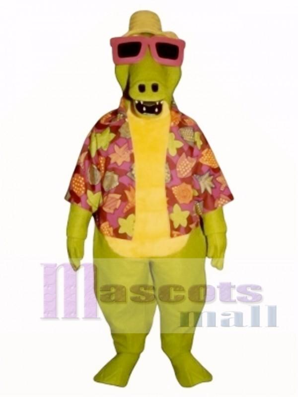 Awesome Alligator Mascot Costume